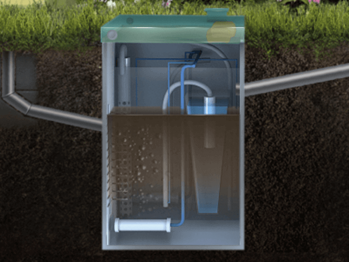канализация в загородном доме