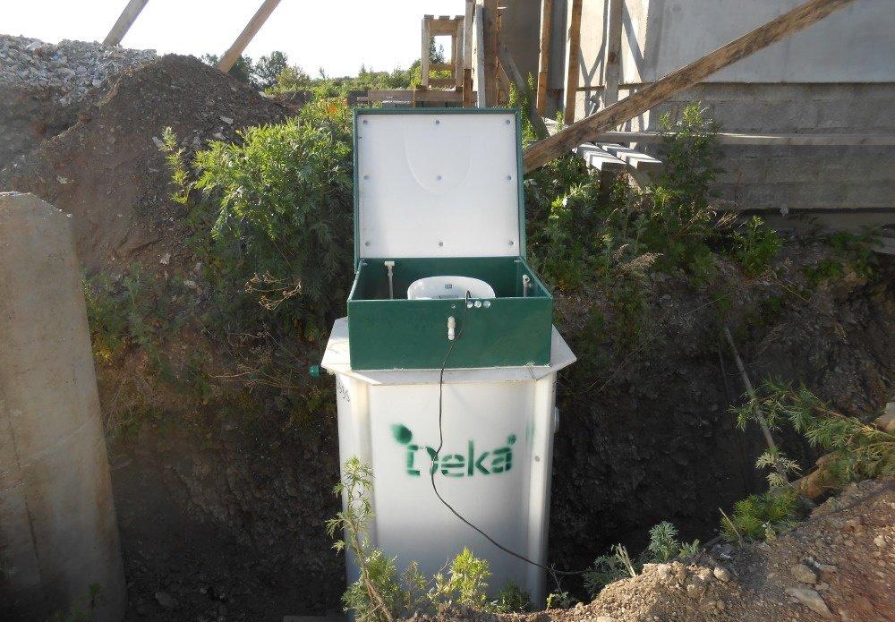 канализация для дачного участка