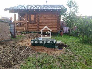 Септик и канализация в Пушкино