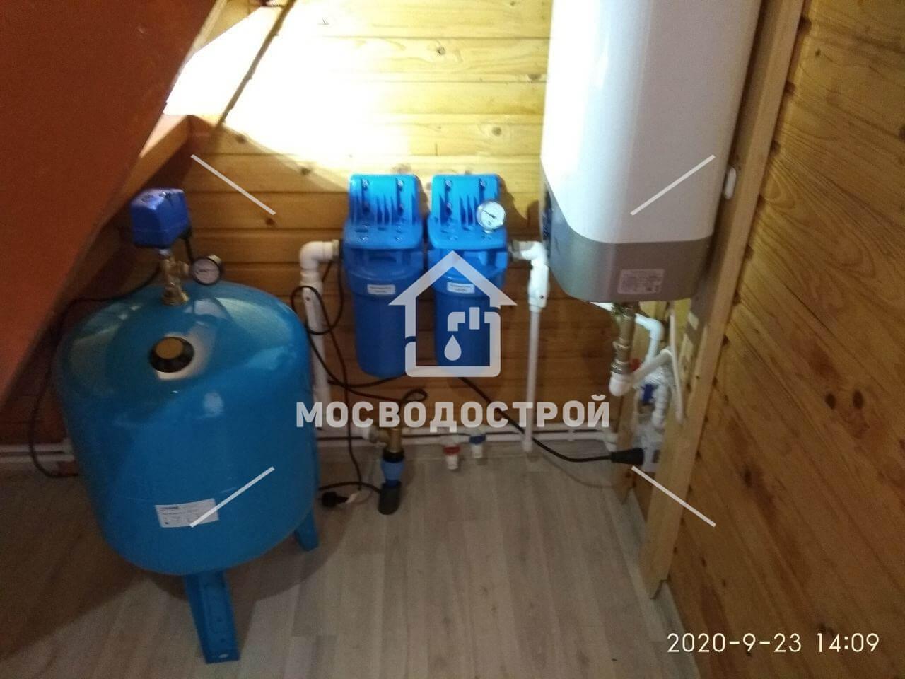 Автономное водоснабжение для частного дома в Пушкино