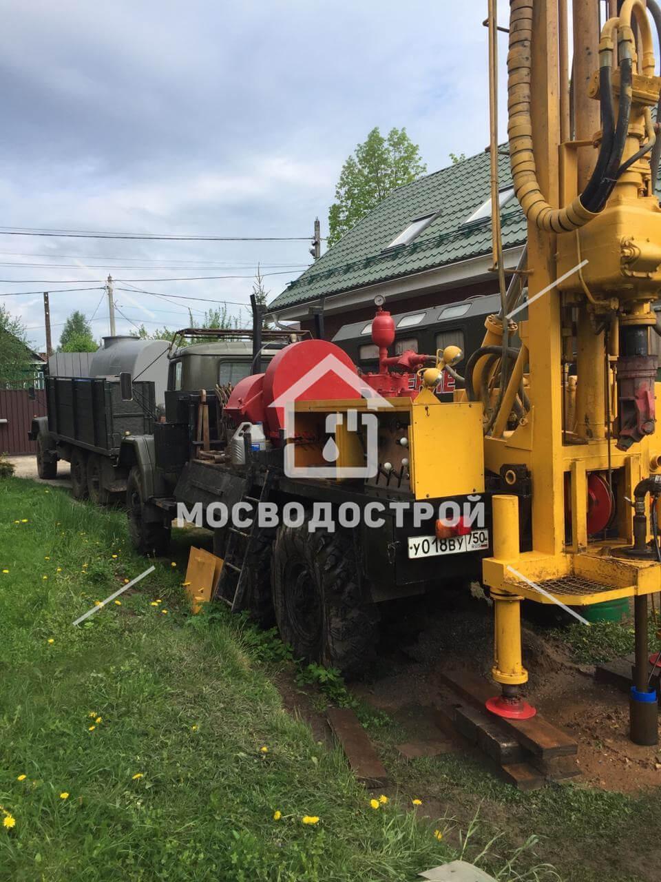 Бурение скважин в Чехове